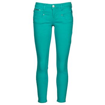 Textil Ženy Kapsáčové kalhoty Freeman T.Porter ALEXA CROPPED NEW MAGIC COLOR Zelená