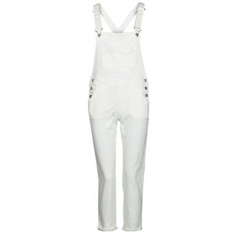 Textil Ženy Overaly / Kalhoty s laclem Freeman T.Porter TARA MUZEY Bílá