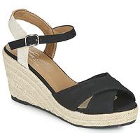 Boty Ženy Sandály Tom Tailor NOUMI Černá