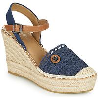 Boty Ženy Sandály Tom Tailor DEB Tmavě modrá
