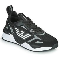 Boty Muži Nízké tenisky Emporio Armani EA7 BLACES Černá
