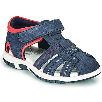 Boty Chlapecké Sandály Chicco FAUSTO Tmavě modrá