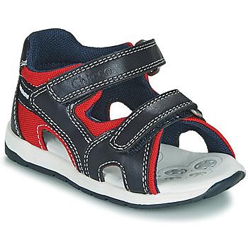 Boty Chlapecké Sandály Chicco GEREMIA Modrá