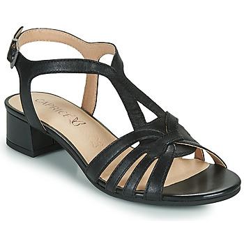 Boty Ženy Sandály Caprice 28201-022 Černá