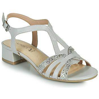 Boty Ženy Sandály Caprice 28201-233 Béžová