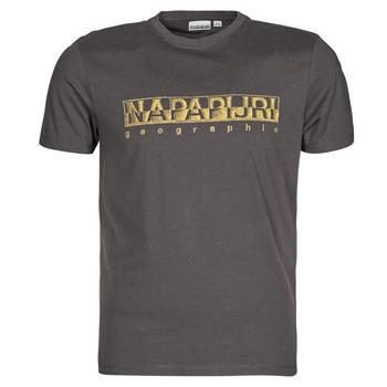 Textil Muži Trička s krátkým rukávem Napapijri SALLAR SS Šedá