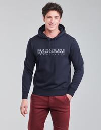 Textil Muži Mikiny Napapijri BALLAR Tmavě modrá