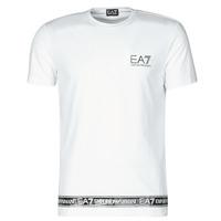 Textil Muži Trička s krátkým rukávem Emporio Armani EA7 3KPT05-PJ03Z-1100 Bílá