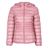 Textil Ženy Prošívané bundy Emporio Armani EA7 8NTB23-TN12Z-1436 Růžová