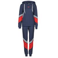 Textil Ženy Teplákové soupravy Emporio Armani EA7 3KTV65-TJ3PZ-1554 Tmavě modrá / Bílá / Červená