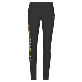 Textil Ženy Legíny Emporio Armani EA7 8NTP63-TJ01Z-0200 Černá / Zlatá