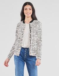 Textil Ženy Saka / Blejzry One Step MADANY Krémově bílá / Černá