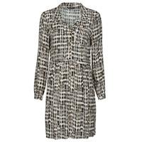 Textil Ženy Krátké šaty One Step RANDA Béžová / Černá