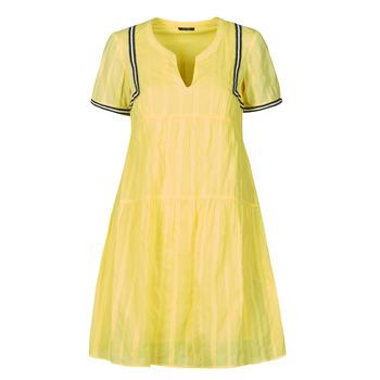 Textil Ženy Krátké šaty One Step ROYA Žlutá