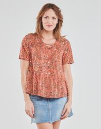 Textil Ženy Halenky / Blůzy One Step CARA Červená