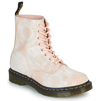 Boty Ženy Kotníkové boty Dr Martens 1460 PASCAL Béžová