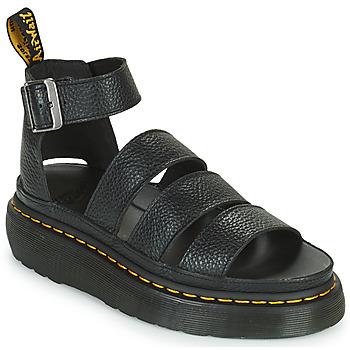 Boty Ženy Sandály Dr Martens CLARISSA II QUAD Černá