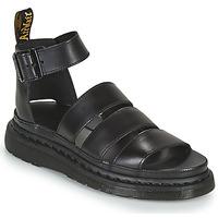 Boty Ženy Sandály Dr Martens CLARISSA II Černá