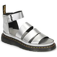 Boty Ženy Sandály Dr Martens CLARISSA II Stříbrná