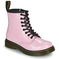 Boty Dívčí Kotníkové boty Dr Martens 1460 J Růžová