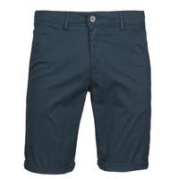 Textil Muži Kraťasy / Bermudy Teddy Smith SHORT CHINO Tmavě modrá