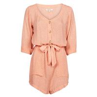Textil Ženy Overaly / Kalhoty s laclem Rip Curl TALLOWS SPOT ROMPER Oranžová