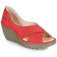 Boty Ženy Sandály Fly London YOMA Červená