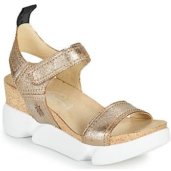 Boty Ženy Sandály Fly London SENA Zlatá