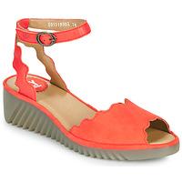 Boty Ženy Sandály Fly London LUME Červená