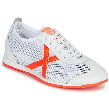 Boty Ženy Nízké tenisky Munich OSAKA 456 Bílá / Oranžová
