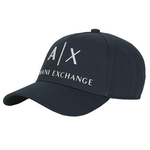 Textilní doplňky Kšiltovky Armani Exchange 954039-CC513-00936 Modrá