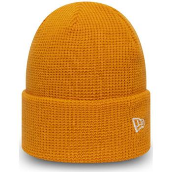 Textilní doplňky Muži Čepice New-Era Ne colour waffle knit Oranžová