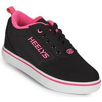 Boty Dívčí Boty s kolečky Heelys PRO 20'S Černá / Růžová