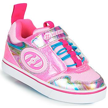 Boty Dívčí Boty s kolečky Heelys ROCKET X2 Růžová