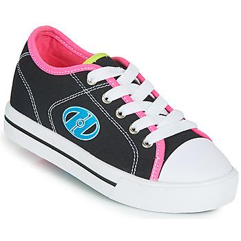 Boty Dívčí Boty s kolečky Heelys CLASSIC X2 Černá / Růžová / Modrá