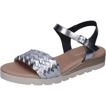 Boty Ženy Sandály Rizzoli Sandály BK606 Stříbrný