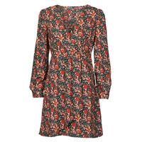Textil Ženy Krátké šaty Betty London NOMIM Černá / Červená