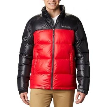 Textil Muži Prošívané bundy Columbia Pike Lake Jacket Černé, Červené