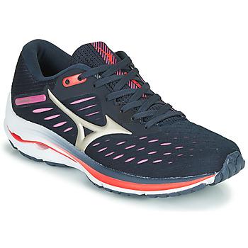 Boty Ženy Běžecké / Krosové boty Mizuno WAVE RIDER 24 Fialová / Růžová