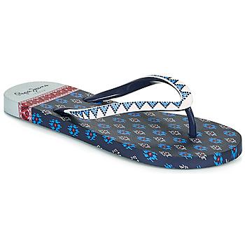 Boty Ženy Žabky Pepe jeans RAKE DANI Tmavě modrá
