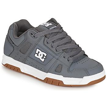 Boty Muži Skejťácké boty DC Shoes STAG Šedá