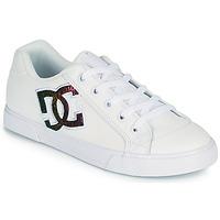 Boty Ženy Skejťácké boty DC Shoes CHELSEA J Bílá / Růžová