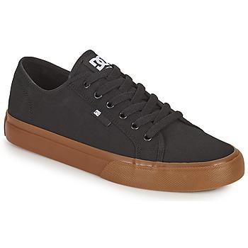 Boty Muži Skejťácké boty DC Shoes MANUAL Černá
