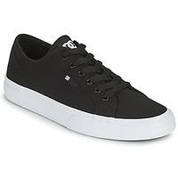 Boty Muži Skejťácké boty DC Shoes MANUAL Černá / Bílá
