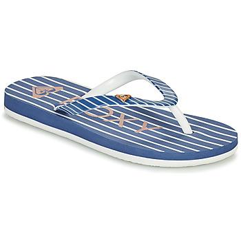 Boty Dívčí Žabky Roxy PEBBLES VII G Tmavě modrá