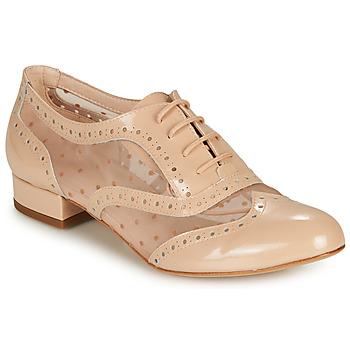 Boty Ženy Šněrovací společenská obuv Fericelli ABIAJE Růžová
