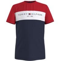 Textil Chlapecké Trička s krátkým rukávem Tommy Hilfiger KB0KB06534-C87