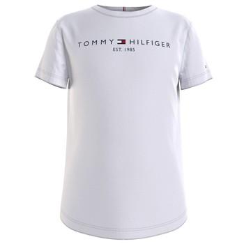Textil Dívčí Trička s krátkým rukávem Tommy Hilfiger KG0KG05242-YBR Bílá