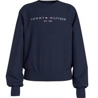 Textil Dívčí Mikiny Tommy Hilfiger KG0KG05764-C87 Tmavě modrá