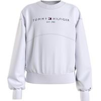 Textil Dívčí Mikiny Tommy Hilfiger THUBOR Bílá